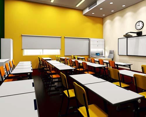 Smart class room in beta Cambridge school